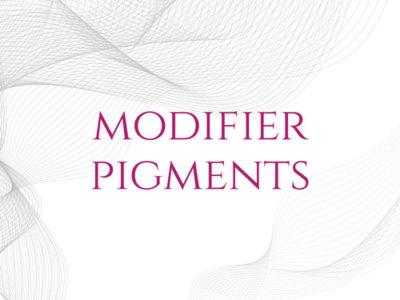 Modifier Pigments